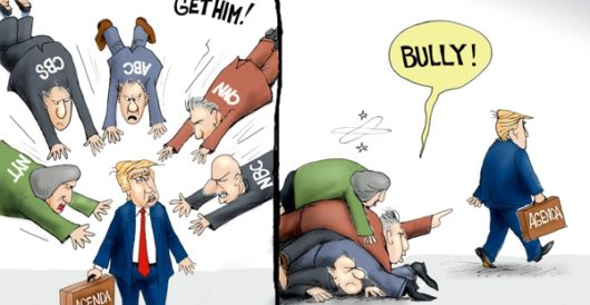Cartoon of the Day: Piling on by A. F. Branco