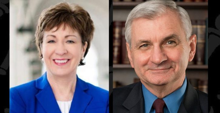 Listen carefully for WHY Susan Collins agreed with Dem colleague that Trump is crazy