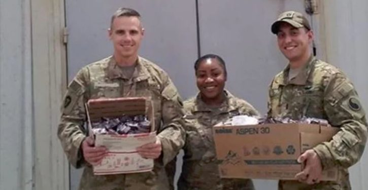Texas soldier in Iraq gets Chick-fil-A care package after Facebook plea