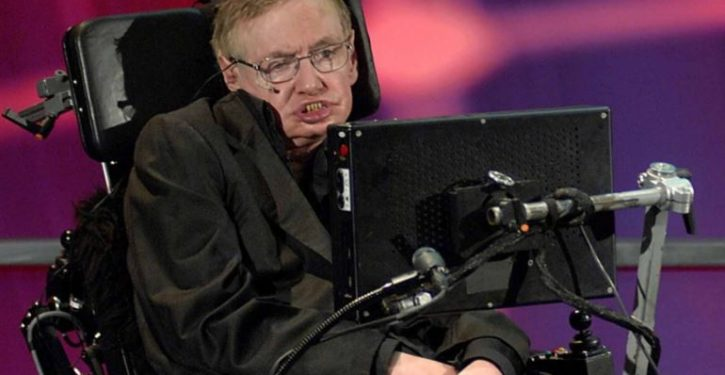 Stephen Hawking makes claim about global warming so bizarre he is attacked by fellow warmists