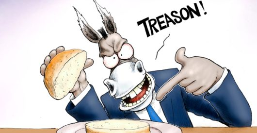 Cartoon of the Day: Big Double Nothing Deluxe, hold the Russian dressing by A. F. Branco