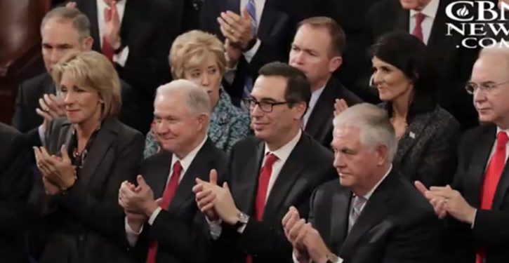 Top cabinet officials joining White House Bible study