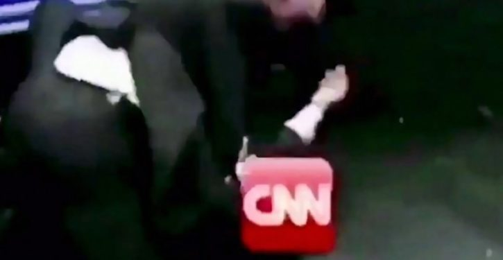 Doxxing war erupts as CNN blackmails creator of Trump's 'CNN-slam' GIF, who apparently is a racist anti-Semite