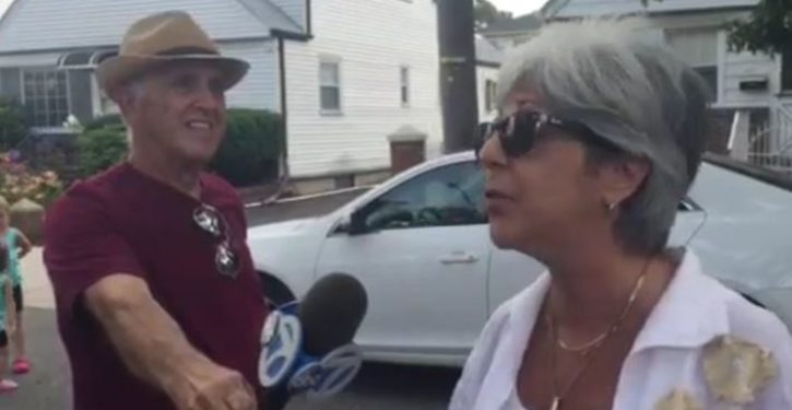 Bill de Blasio's worst nightmare? A 63-year-old female constituent from Queens