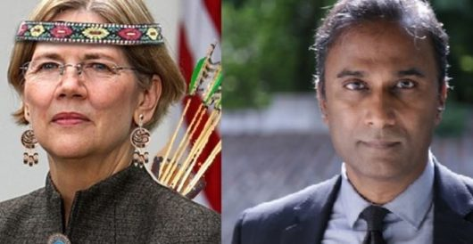 Real Indian challenging Elizabeth Warren for Senate seat sends her DNA kit for her birthday by Ben Bowles