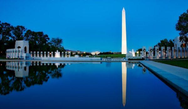 Humdinger: Washington Monument struck by lightning by J.E. Dyer