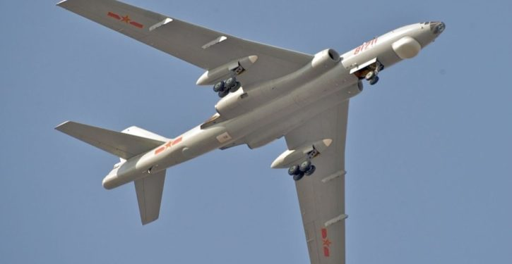 China flies bombers near Japan, says 'Get used to it'