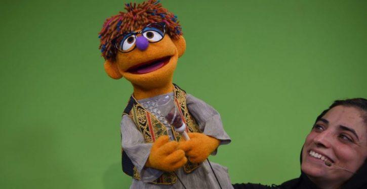 Infidelmo: New Muppet on Afghanistan's version of 'Sesame Street' teaches respect for women