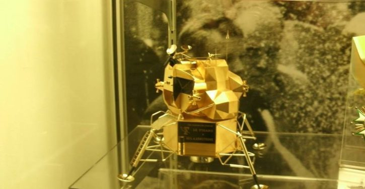 Ohio: Neil Armstrong's solid gold lunar module replica stolen from museum