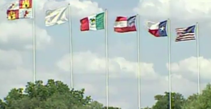 Six Flags Over Texas takes down Confederate flag