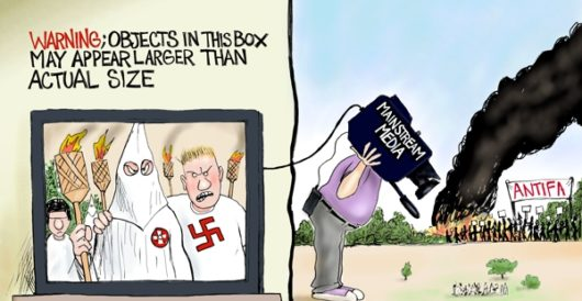 Cartoon of the Day: Larger than life by A. F. Branco