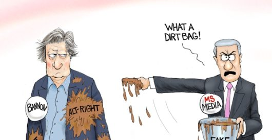 Cartoon of the Day: Glass houses by A. F. Branco