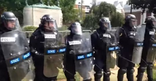 On that police stand-down in Charlottesville, there's money to follow by J.E. Dyer