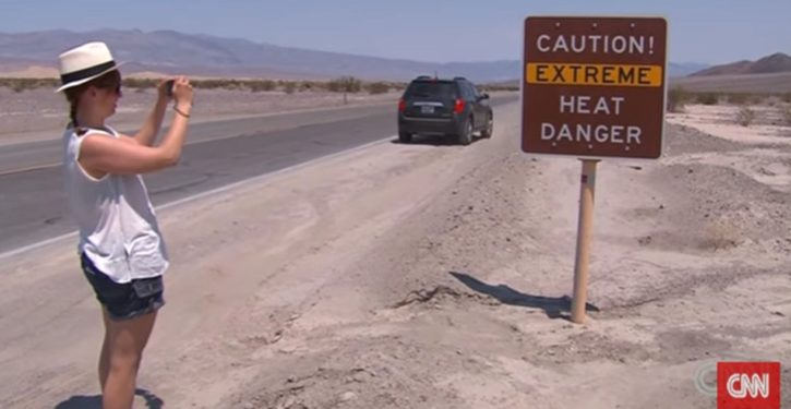 Death Valley sees hottest month 'ever' in July 2017