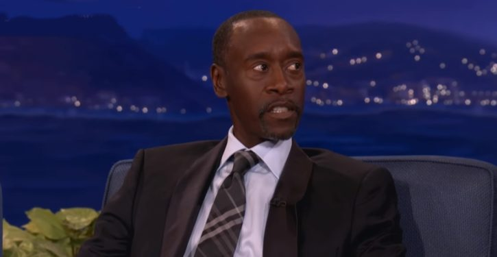 Latest dog whistle: Actor Don Cheadle sees Nazism where none exists