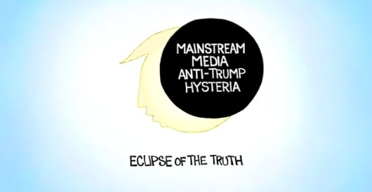 Cartoon bonus: Total eclipse of the truth by A. F. Branco