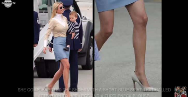 Trump women in their stiletto heels: 'Beautiful, horrifying'