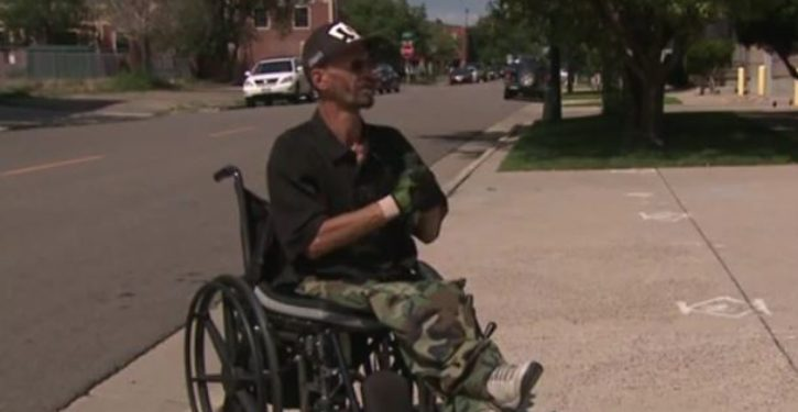 Denver man in wheelchair struck by car; then this happens