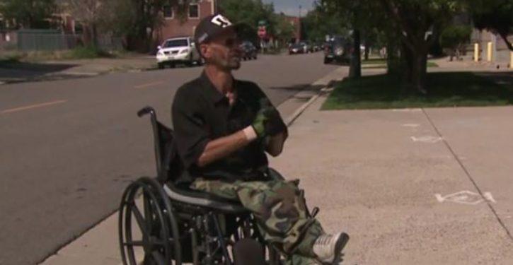 Denver man in wheelchair struck by car; then this happens