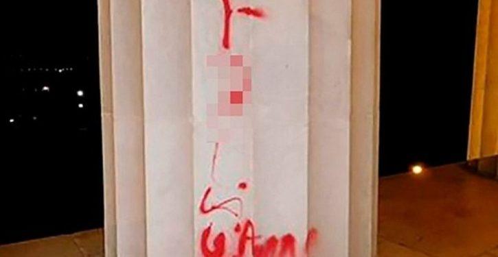 'F**k law': Lincoln Memorial vandalized. Common bonds slipping away