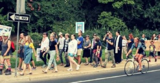 It took only a day for the 'march against bigotry and hate' to lose nearly all its marchers by LU Staff