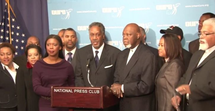 Black Christian leaders come together to defend Trump after Charlottesville violence