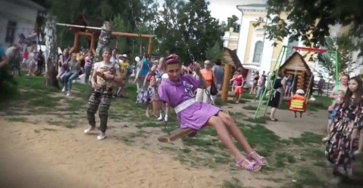 Russia responds to sanctions with weird video threatening folk dancing and Death Metal