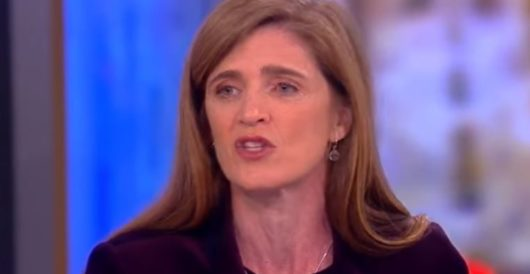 Samantha Power used govt email for 'deep state' political plotting against incoming Trump administration by Jeff Dunetz