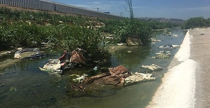 Mexican sewage dumped in Tijuana River is sickening Border Patrol agents