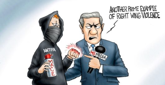 Cartoon of the Day: Sucker punch by A. F. Branco