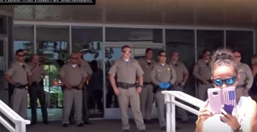 California: Massive armed response to tiny GOP protest at GOP assemblyman's office by J.E. Dyer