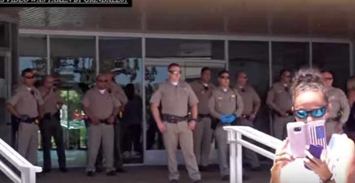 California: Massive armed response to tiny GOP protest at GOP assemblyman's office