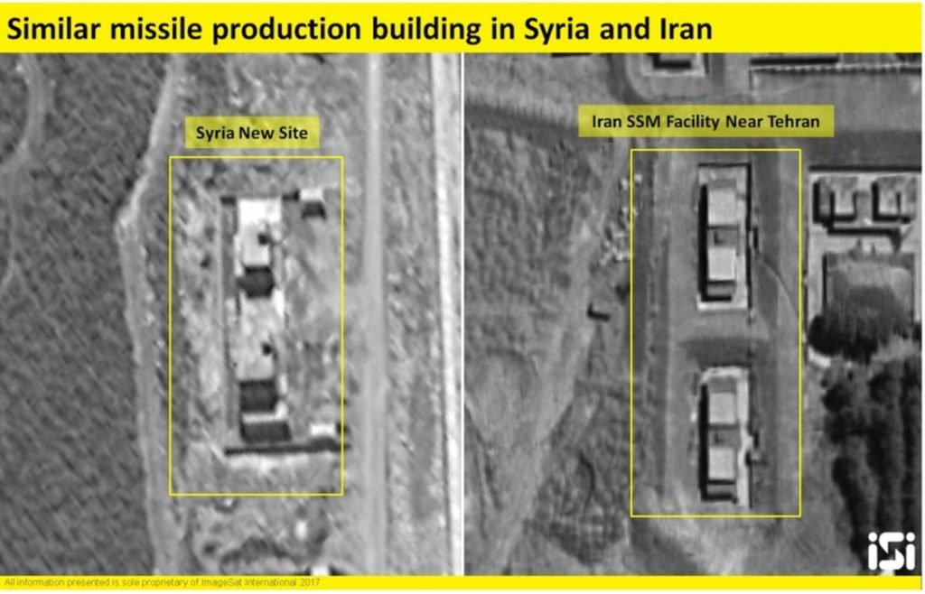 Iran-backed missile plants busting out all over western Syria, Lebanon