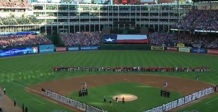 Feminist professor protests the honoring of military, America at baseball games