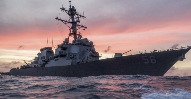 BREAKING: Destroyer USS John S. McCain collides with tanker near Singapore; 10 missing, 5 injured