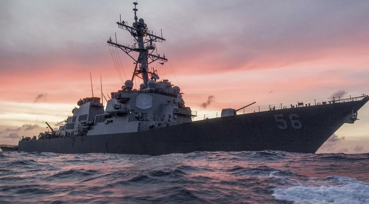 A U.S. Navy freedom of navigation op executed off Russia in Far East