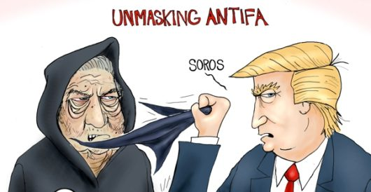 Cartoon of the Day: Unmasking Antifa by A. F. Branco