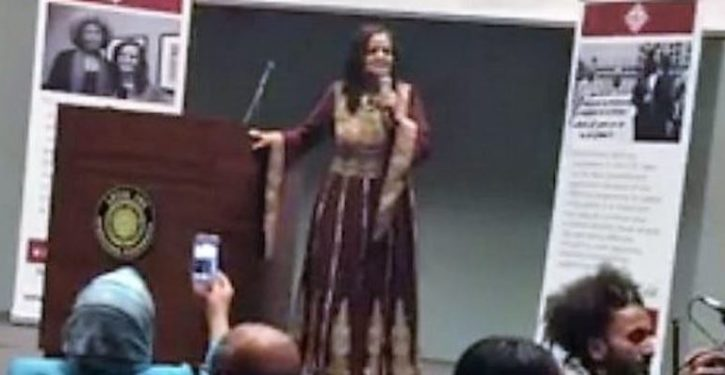 Chicago crowd cheers as convicted terrorist calls for destruction of Israel