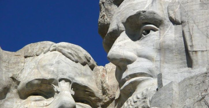 The Left's next target? Mt. Rushmore. Seriously