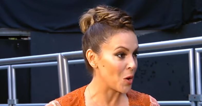 Alyssa Milano struggles to come to grips with Jussie Smollett hate hoax