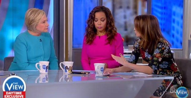 Was Jedediah Bila forced of the 'The View' for being honest with Hillary Clinton?