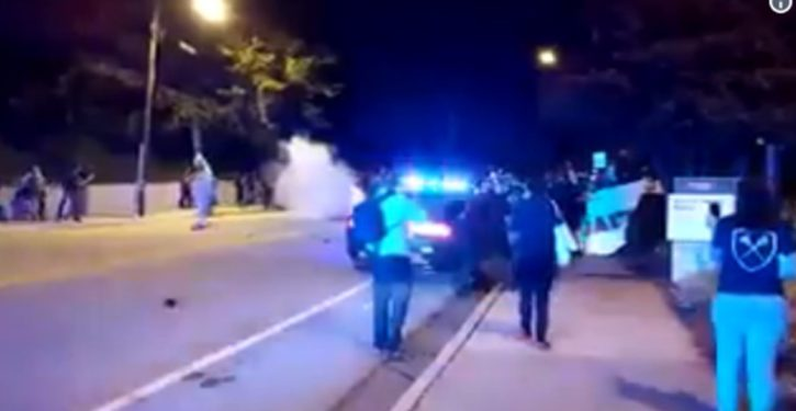 Georgia Tech: Violence breaks out on campus after knife-armed student shot by cop