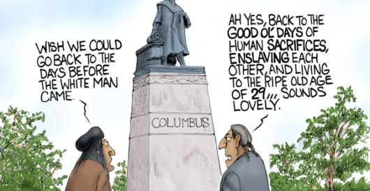 Cartoon of the Day: Good ol' days by Howard Portnoy