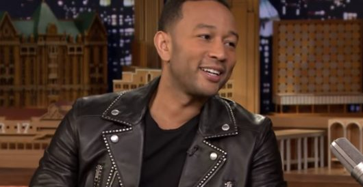John Legend's modest proposal for how admin. officials can avoid harassment by flash mobs by Ben Bowles