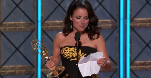 At heavily politicized Emmys, Julia Louis-Dreyfuss attacks Trump, supporters as 'Nazis' by Joe Newby