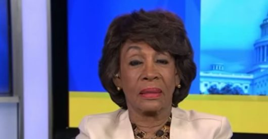 GOP House members introduce measure to censure Maxine Waters, call for her resignation by LU Staff