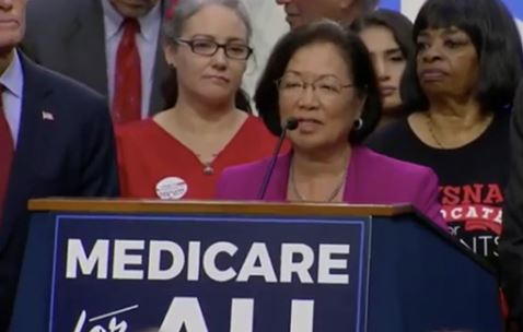 VIDEO: Mazie Hirono: A lot of trump's base are white supremacists, that's who he speaks to
