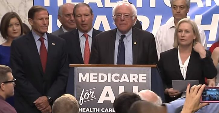 Evidence that 'Medicare for All' would result in a collapse of the healthcare system