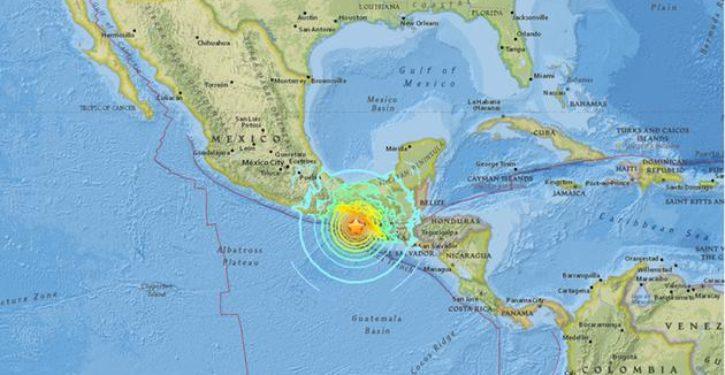 BREAKING: Massive magnitude 8.2 earthquake off Mexican coast late Thursday night