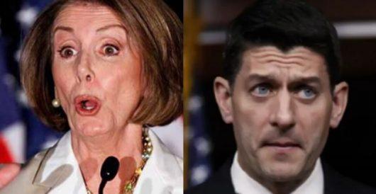 New poll shows Paul Ryan as unpopular as Nancy Pelosi by Thomas Madison